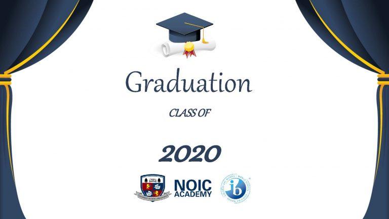 2020 NOIC Academy Graduation Ceremony