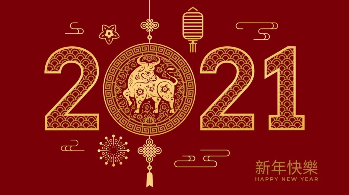Happy New Year of the Ox: NOIC students sending out New Year wishes by filming festive videos!